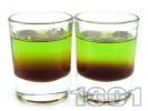 Рецепта Шот Кафе с пъпеш от ликьор пъпеш и калуа (кафеен ликьор)